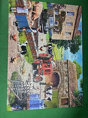 £1.50 • Buy Gibson Life On The Farm, Puzzle 1000 Pieces (G6304)