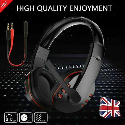 £10.99 • Buy Stereo Video Gaming Headset For Xbox One PS4 Nintendo Switch & PC Mic&Headphones