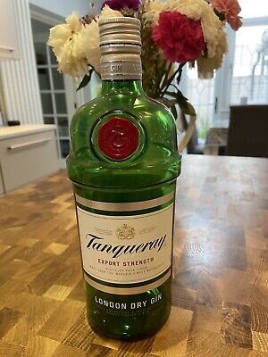 £2 • Buy Empty Tanqueray Gin Bottle 1L
