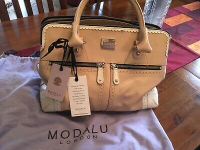 £35 • Buy Modalu Nude 3 Compartments Large Pippa Grab Bag