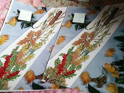 £4.99 • Buy Cross Stitch Chart Part 1 & 2 Height Of Winter  Flower Charts Mary Hickmott