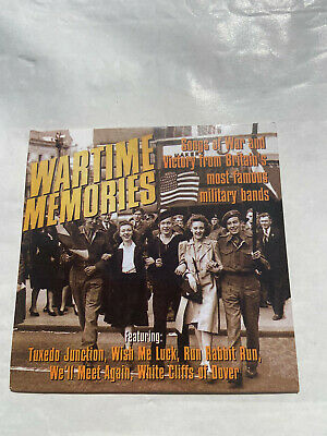 £2 • Buy WARTIME MEMORIES Songs Of War And Victory From Britains Military CD Music Audio