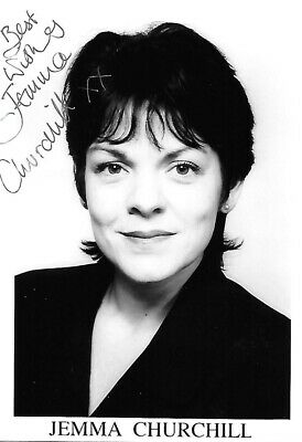 £15 • Buy JEMMA CHIUCHILL HAND SIGNED Photo HOLBY HEARTBEAT UPSTAIRS DOWNSTAIRS DOCTORS