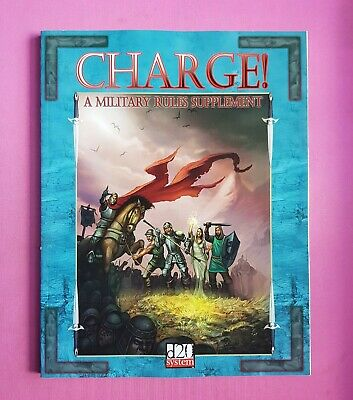 AU1.83 • Buy Charge! A Military Rules Supplement - Rpg Roleplaying Dungeons & Dragons 3rd 3.5