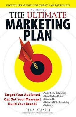 £3.94 • Buy The Ultimate Marketing Plan 4th Edition, Kennedy, Dan S., Good Condition Book, I