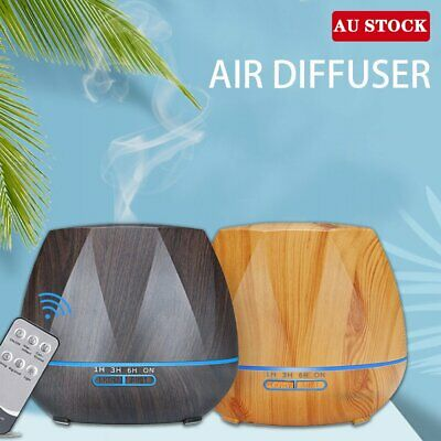 AU17.90 • Buy Ultrasonic Aroma Aromatherapy Diffuser Oil LED Electric Air Humidifier Essential