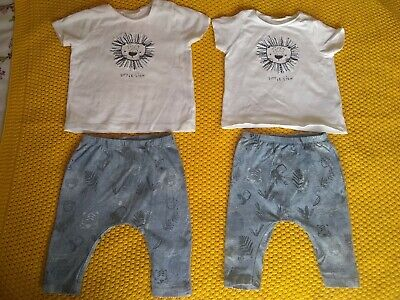 £1.30 • Buy Next Baby Boy Matching Twins Outfit 3-6 Month Brand New No Tags