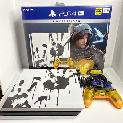 AU591.55 • Buy Sony PlayStation 4 Pro Death Stranding Limited Edition 1TB PS4 PRO Console