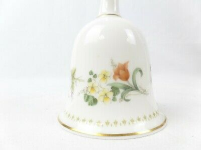 £2.99 • Buy Wedgwood Mirabelle Small China Bell 4  Tall
