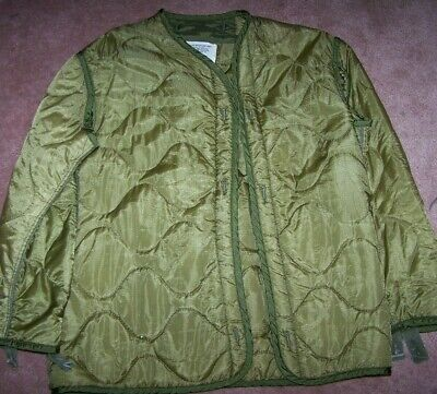 $7 • Buy M65 Field Jacket Liner, Od Green, Small, U.s. Issue *nice* #2