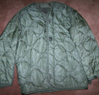 $7 • Buy M65 Field Jacket Liner, Foliage Green, Small, U.s. Issue *nice* #3