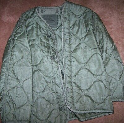 $7 • Buy M65 Field Jacket Liner, Foliage Green, Small, U.s. Issue *nice* #7