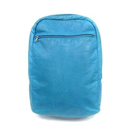 $235.64 • Buy Zero Eight Five One M0851 Backpack Anison Leather Light Blue /Yi4 Women 'S