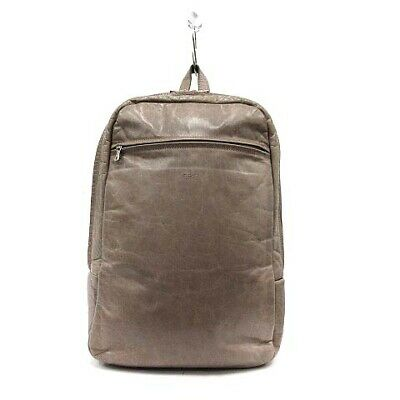 $273.50 • Buy Zero Eight Five One M0851 Bag Backpack Aniline Leather Brown /Yo10 Mens Women 'S