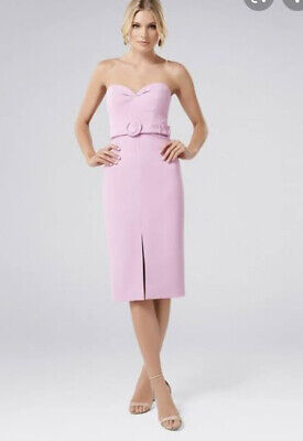 AU50 • Buy Size 8 Strapless Bustier Cocktail Midi Dress - Pastel | Forever New