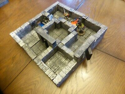 AU44.28 • Buy  Dungeons And Dragons Modular 3D Tiles Table Top RPG Board Game Frostgrave V6