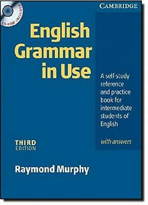 £6.33 • Buy English Grammar In Use With Answers And CD ROM: A Self-study Reference And Pract