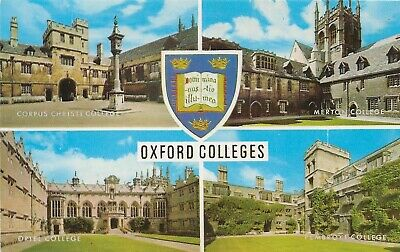 £0.99 • Buy Oxford Colleges,  An Unused Colour Multiview Postcard