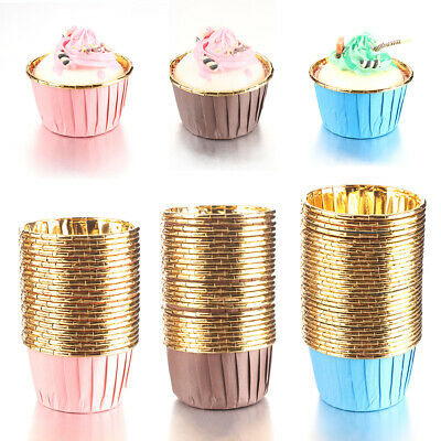 £4.69 • Buy Tools Tray Cake Liner Baking Cup Cupcake Wrappers Cake Paper Cups Muffin Cases