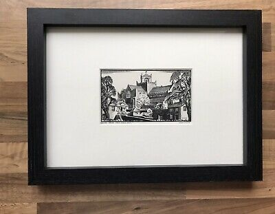 £18 • Buy Framed Print Of Cartmel Priory, Cumbria From North West By Sydney Buckley 1940's