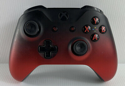 AU51 • Buy Xbox One Controller - Model 1708 - Black & Red With Red LED Light