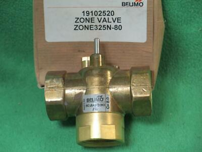 $ CDN92.83 • Buy Belimo Zone325n-80 Zone Valve 1  Inch 3 Way Fnpt 8cv Forged Brass W/o Actuator