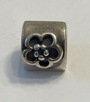 AU13.35 • Buy Authentic PANDORA Retired Charm Sterling Silver DAISY #790187
