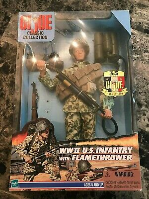 $ CDN23.66 • Buy GI Joe 1:6 Classic Collection WWII US Infantry With Flamethrower 1999