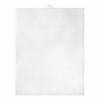 £13.18 • Buy New Plastic Canvas Count Pack Of 12 Clear 10.5 X 13.5-Inch 7