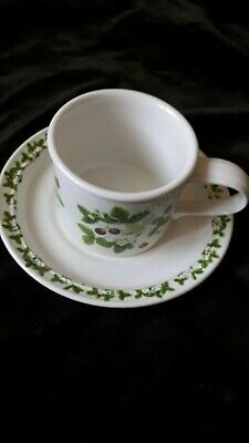£4.80 • Buy PORTMERION-SUMMER STRAWBERRIES-TEA CUP& SAUCER. Preowned Good Condition.