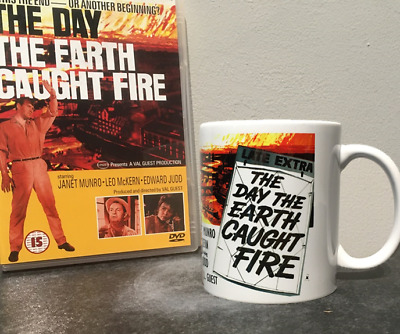 £8.99 • Buy DAY THE EARTH CAUGHT FIRE  DVD + Promo Mug