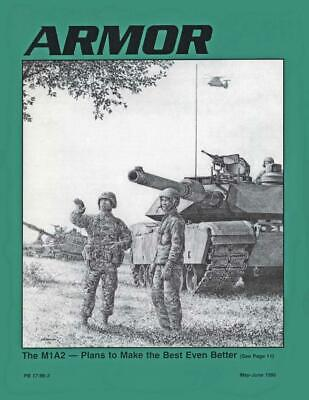 $8 • Buy U.S. Army  Armor  Vol. 105, #3  The M1A2 - Plans To Make The Best Even Bet VG+