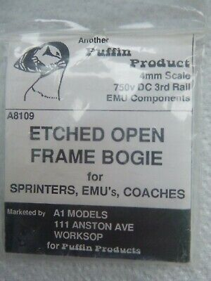 £0.99 • Buy Puffin / A1 Models 00 Scale ETCHED OPEN FRAME BOGIE For EMU, DMUs, Coaches