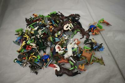 £4.99 • Buy Vintage Britains Toy Soldiers Cowboys & Indians Over 70 Pieces