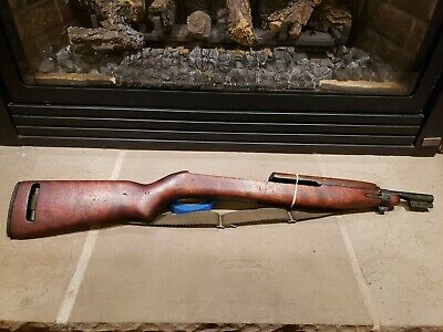 $51 • Buy Beautiful Complete Springfield SA Marked M1 Carbine Pot Belly Stock Barrel Band