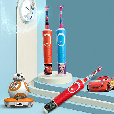AU24.99 • Buy Oral-B  Kids Electric Toothbrush Soft Rotation For Children With Cartoon