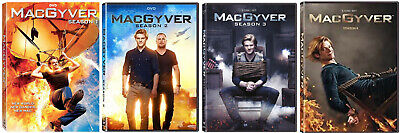 $79.97 • Buy MacGyver Seasons One Two Three Four 1-4 DVD NEW 79-Episodes 2016-2019 Reboot CBS