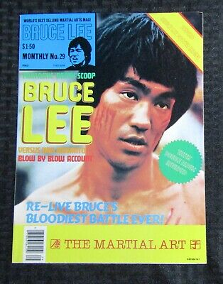 £14.67 • Buy 1970's KUNG-FU MONTHLY Poster Magazine #29 FVF 7.0 Bruce Lee Blow By Blow