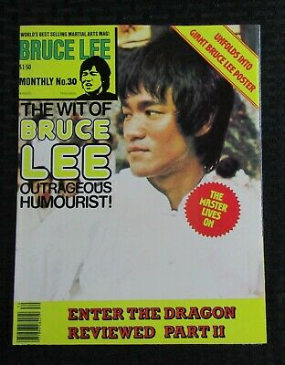 £14.67 • Buy 1970's KUNG-FU MONTHLY Poster Magazine #30 FVF 7.0 Bruce Lee The Wit Of