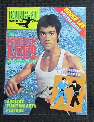 £14.67 • Buy 1970's KUNG-FU MONTHLY Poster Magazine #5 FVF 7.0 Bruce Lee The Greatest?