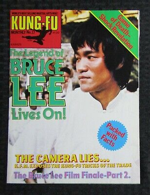 £14.67 • Buy 1970's KUNG-FU MONTHLY Poster Magazine #17 FVF 7.0 Bruce Lee Lives On!