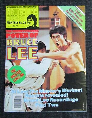 £14.67 • Buy 1970's KUNG-FU MONTHLY Poster Magazine #26 FVF 7.0 Bruce Lee The Power Of