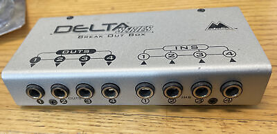 $19.25 • Buy M-Audio Delta 44 Delta 66 Series Break Out Box 4-In / 4-Out (No Cable Or Card)