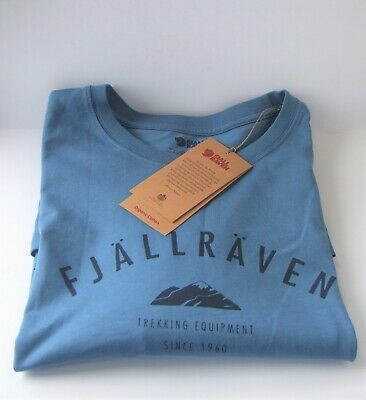 £25 • Buy A Mens Fjallraven Trekking Equipment T Shirt  Size (L) Brand New With Tags