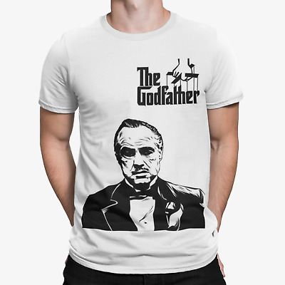 £4.99 • Buy Godfather Art T-Shirt - Film Movie Cool TV Action Funny Gangs Scarface Mafia