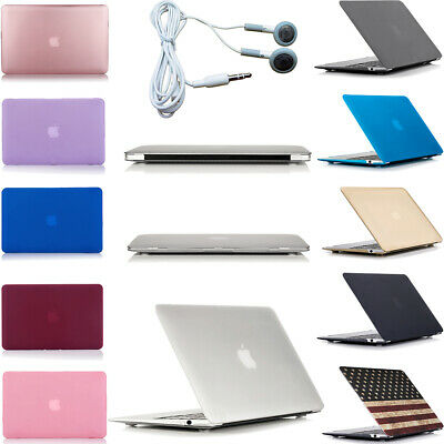 $15.99 • Buy Hard Case Cover Earphones For MacBook Air 13 2020 2019 2018 A2337 M1 A2179 A1932