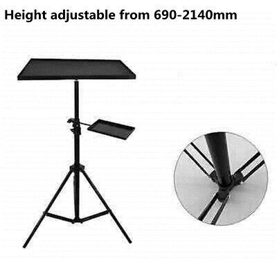 AU50.05 • Buy Heavy Duty Tripod Stand For Laptop Projector Adjustable Height From 690-2140mm