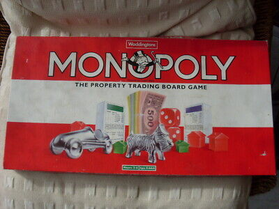 £14.99 • Buy Waddingtons Monopoly Vintage Classic Edition Board Game 1993 Used