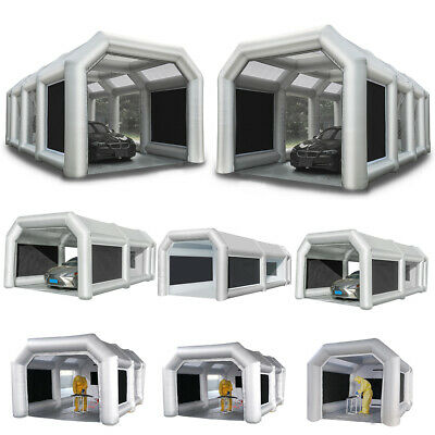 $899.99 • Buy Orionet Inflatable Car Spray Paint Booth Portable Paint Tent & Blowers Filters