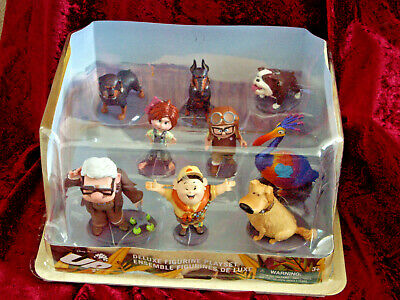 £34.99 • Buy Disney Store Up Deluxe Figurine Playset 9 Figures New Toys Carl Ellie Russell